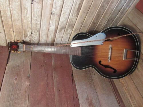 VINTAGE 1950s - 60s HARMONY ACOUSTIC GUITAR FULL SIZE