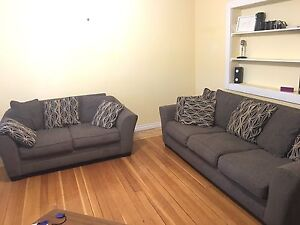 Sofa set love seat and 3 seater