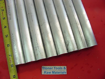 8 Pieces 1 Aluminum Round 6061 8 Long T6511 Solid Rod 1.00 Od New Bar Stock