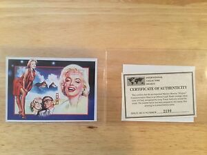 Stamps, WWF, first day covers, Marilyn Monroe commemorate stamps Regina Regina Area image 7