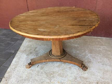 Round Table Occasional Table Indonesian Teak Table D 105cm