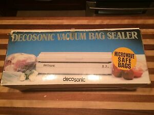 Scelleur de sac sous vide Decosonic