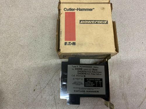 NEW IN BOX CUTLER HAMMER REED RELAY D40RBT1