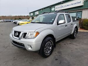 2019 Nissan Frontier PRO-4X CLEAN CARFAX/4X4/LEATHER/BACK UP CAM