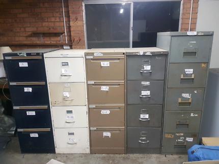 4 x Filing cabinets