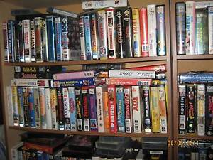 VHS VIDEO MOVIES -- VIEW CURRENT LIST OF MOVIES FOR SALE Bunbury Bunbury Area Preview