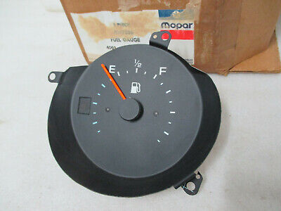 Mopar NOS 1980-83 Mirada Cordoba Chrysler 300 Fuel Gauge with Console 4047536