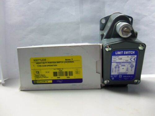 New Square D 9007TUD5 Heavy Duty Position Limit Switch 9007 TUD5 Series D NIB