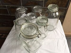 Assorted jars and glassware Parkside Unley Area Preview
