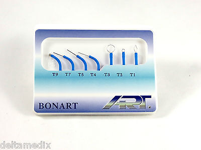 Dental Medical Electrode Tips For Electrosurgery Art-e1 Set 7 Pcs Bonart