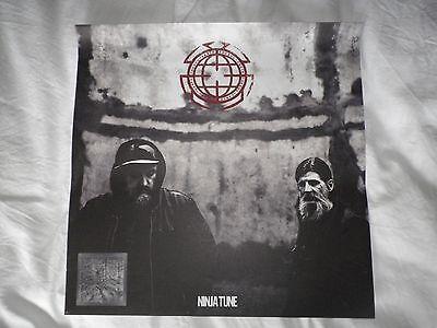 "The Bug Vs Earth (Ninja Tune) Promo 12"" (Vinyl) poster"