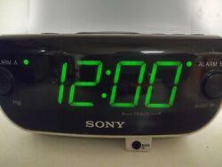 Sony Dream Machine AM FM RADIO DUAL Alarm Clock Tested and Working ICF-CD814