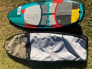 "North Nugget TT 5'2"" Kite Surfboard w pads straps & bag"