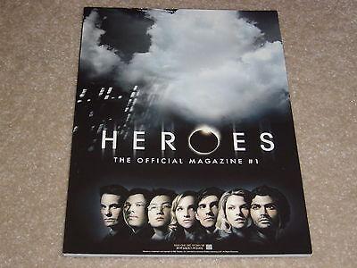 Heroes Official Magazine  1 Hayden Panettiere Milo Ventimiglia Ramamurthy Pasdar