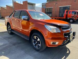 Wrecking 2016 Holden Colorado RG 4WD Manual Diesel In Orange Colour , Done 101,275Km  West Footscray Maribyrnong Area Preview