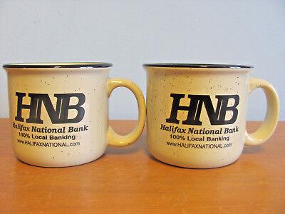 2 HALIFAX NATIONAL BANK MUGS