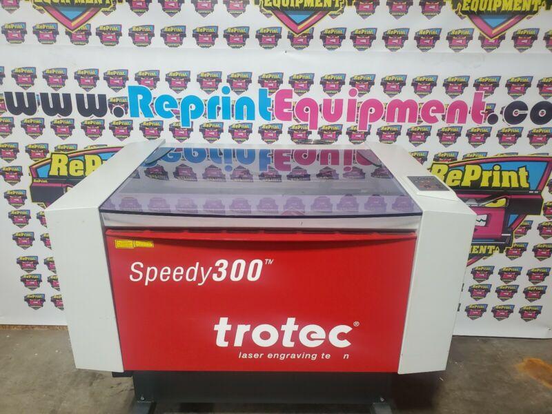 TROTEC SPEEDY 300 60 WATT laser engraver cutter epilog universal