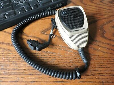 Lot Of 3 Motorola Hmn1052a Radio Microphones - Astro Spectra Maratrac All Work