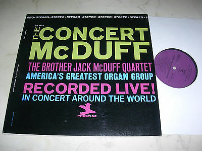 THE BROTHER JACK McDUFF QUARTET Recorded Live *RARE ORIGINAL 1st PRESS*