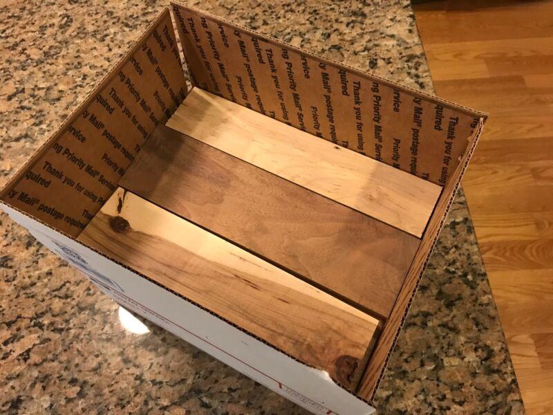 Hardwood Lumber Scraps Woodworking Crafts Pens Ash Wood Walnut Oak Maple Cherry
