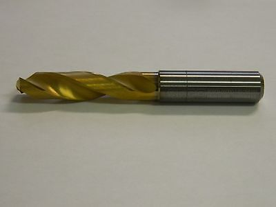Seco Screw Machine Length Drill Bit 12 Carbide Spiral Type Rh 19479