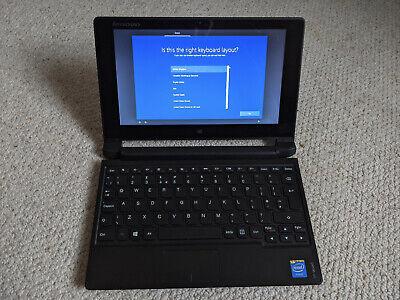 Lenovo Ideapad Flex 10 Touchscreen Laptop Windows 10