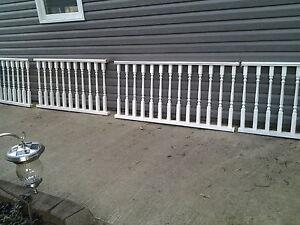 Wood railing for sale