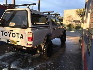 2000 model Toyota hilux Leumeah Campbelltown Area Preview