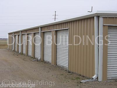 Duro Steel Mini Self Storage 30x150x8.5 Metal Prefab Building Structure Direct