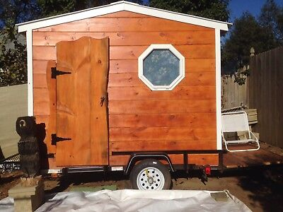 Custom Made Tiny House Camper Trailer Mobile Office
