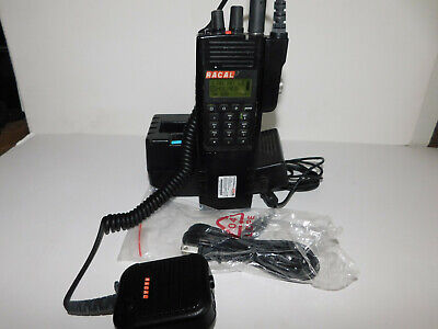 Complete Thales Racal 25 T25 Prc6894 Vhf P25 Des Aes Digital Portable Radio V505