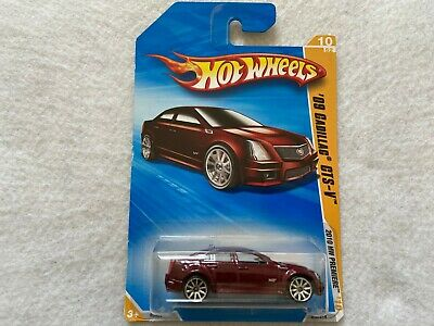 09 Cadillac CTS-V 2010 HW Premere Hot Wheels