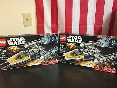 Lego Star Wars Y Wing Starfighter 75172, set of 2 (some damage to one box)