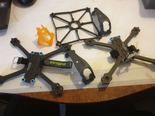 X3 Diatone Fpv Carbon Fibre Drone Frames And Covers...