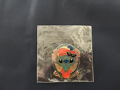 Lilo And Stitch Halloween Games (Disney Pin Japan TDS Game Prize Halloween 2012 Stitch Arabian Coast NEW IN)
