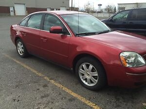 FORD FIVE HUNDRED AWD CHERRY BLACK $1999.99