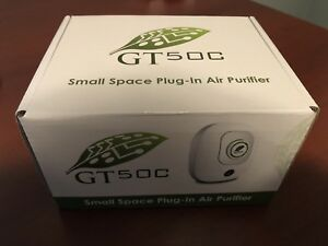 Plug in air purifier - small space Greentech GT50c