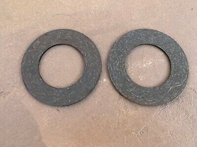2 Pcs Slip Clutch Friction Disc Replace John Deere Sw04542 19-413 Free Ship