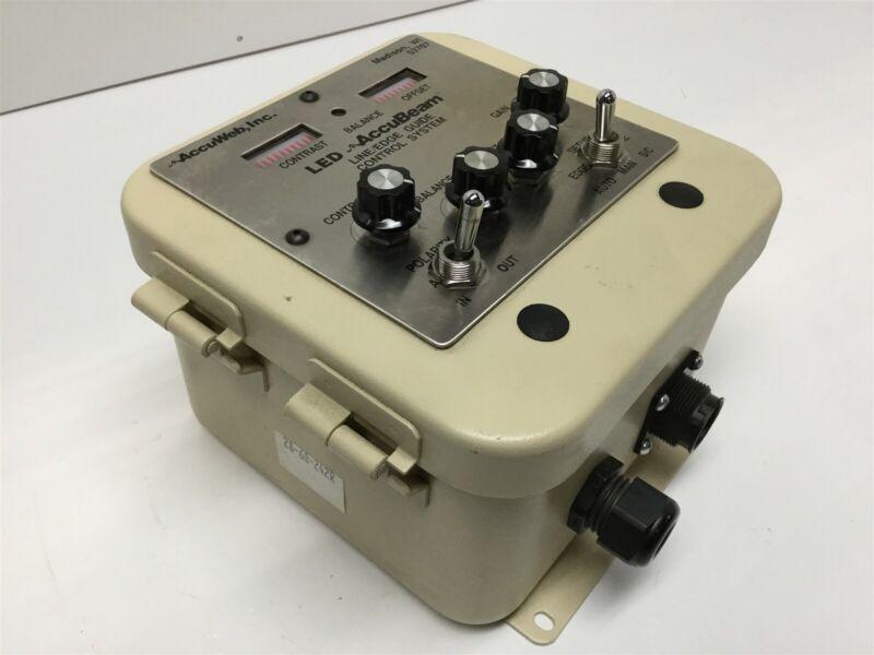 AccuWeb P/E 2201-02 AccuBeam Line Guide Sensor Edge-Loss Output Signal Control