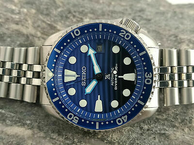 SEIKO DIVER 7002-700A LOVELY SAVE THE OCEAN MOD AUTOMATIC MEN'S WATCH 552040