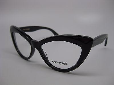 Zac Posen Verushka Eyeglasses Colors Black or Tortoise, Size 52 or 54, Brand (Eyeglass Or Eyeglasses)