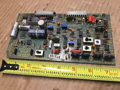 Paramizer 100047 Control Circuit Board 100072dd From Hurco Kmb1 Kmb-i 1 Cnc Mill