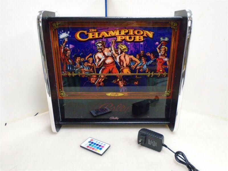 Bally Champion Pub Pinball Head LED Display light box