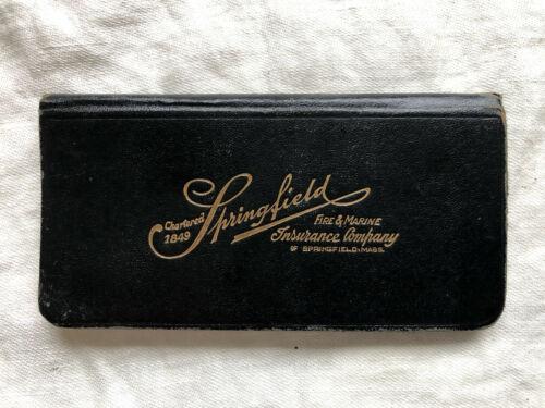 1923 Springfield Fire & Marine Insurance Co. Mass. Souvenir Calendar Notebook