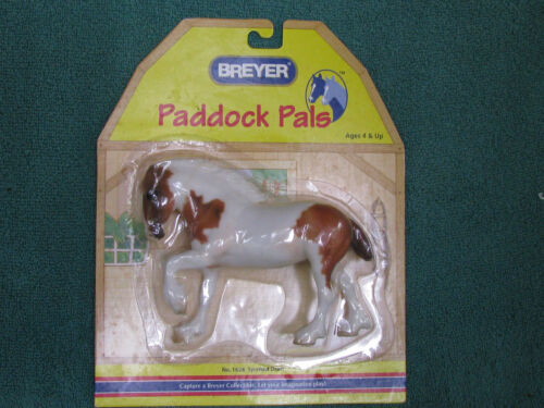 Breyer #1628 Pinto LB Paddock Pals Drafter NRFC - Made in 2003 Only - Ships Free