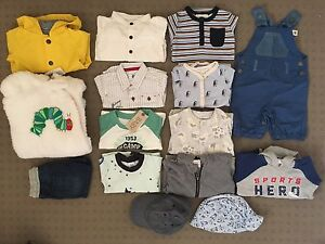 Boys Clothing Bundle (15) 000 - Seed, Country Rd, Bonds, Cotton On Cherrybrook Hornsby Area Preview