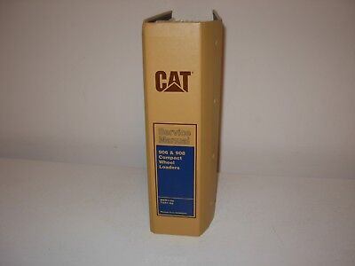 Caterpillar 906 908 Compact Wheel Loader Service Manual Mer1-up Tar1-up