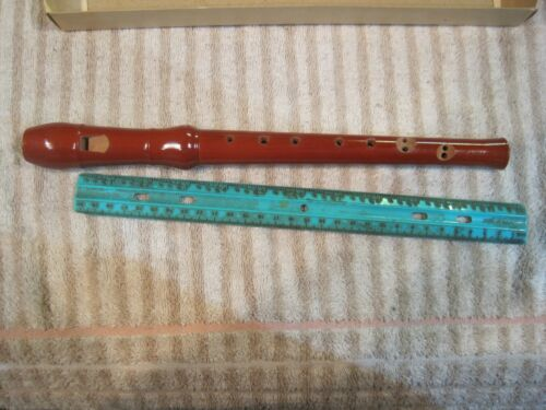 Vintage Corelli Wooden Recorder Made In Germany