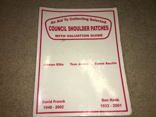 Boy Scout BSA 2002 Council Strip Shoulder Patch CSP Collecting Guide Price Book