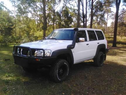 2 x Nissan GU Patrols for Sale, 108,000ks